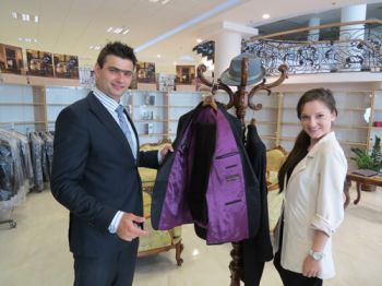 Kinga Luks visited Richmart factory